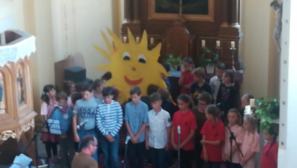 2018-05-25 Zpívání v kostele